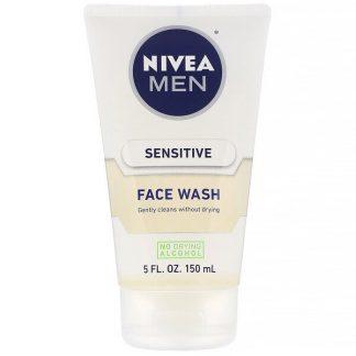 Nivea, Men, Sensitive Face Wash, 5 fl oz (150 ml)