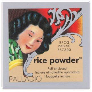 Palladio, Rice Powder, Natural, 0.60 oz (17 g)