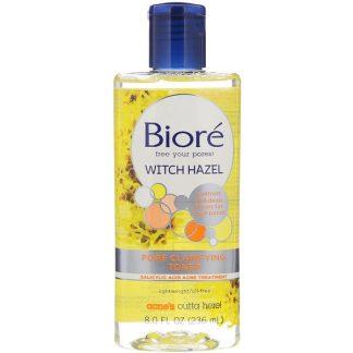Biore, Pore Clarifying Toner, Witch Hazel, 8 fl oz (236 ml)
