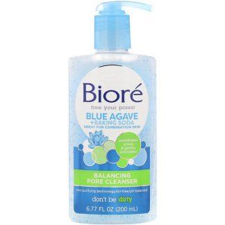 Biore, Balancing Pore Cleanser, Blue Agave + Baking Soda, 6.77 fl oz (200 ml)