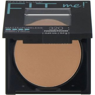 Maybelline, Fit Me, Matte + Poreless Powder, 320 Natural Tan, 0.29 oz (8.5 g)