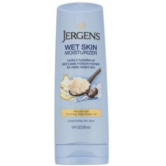 Jergens, Wet Skin Moisturizer, Shea Butter Oil, 10 fl oz (295 ml)