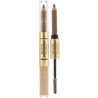 Revlon, ColorStay, Brow Fantasy, 104 Dark Blonde, 0.011 oz (0.31 g) / 0.04 fl oz (1.18 ml)
