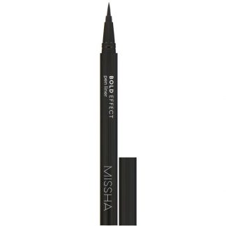 Missha, Bold Effect, Pen Liner, True Black, 0.4 g