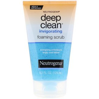Neutrogena, Deep Clean, Invigorating Foaming Scrub, 4.2 fl oz (124 ml)