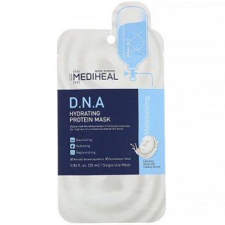 Mediheal, D.N.A Hydrating Protein Mask, 1 Sheet, 0.84 fl oz (25 ml)