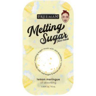 Freeman Beauty, Melting Sugar Face Mask, Oil Absorbing, Lemon Meringue, 0.33 fl oz (10 ml)