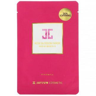 Jayjun Cosmetic, Rose Blossom Mask, 1 Sheet, 0.84 fl oz (25 ml)