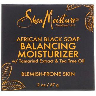 SheaMoisture, African Black Soap, Balancing Moisturizer, 2 oz (57 g)