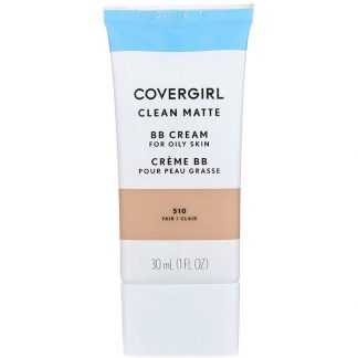 Covergirl, Clean Matte BB Cream, 510 Fair, 1 fl oz (30 ml)