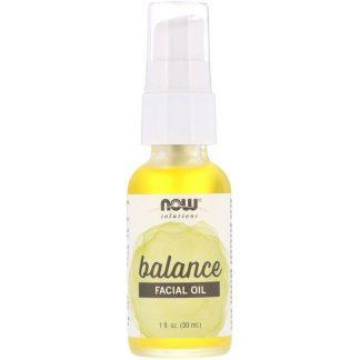 Now Foods, Solutions, Facial Oil, Balancing, 1 fl oz (30 ml)
