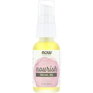 Now Foods, Solutions, Facial Oil, Nourish, 1 fl oz (30 ml)