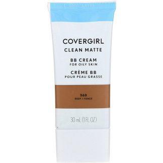 Covergirl, Clean Matte BB Cream, 560 Deep, 1 fl oz (30 ml)