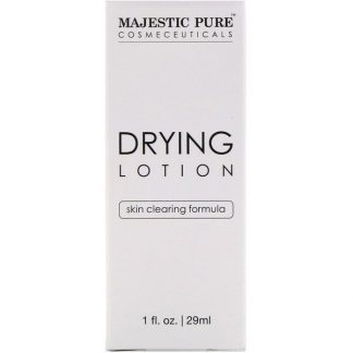 Majestic Pure, Drying Lotion, Skin Clearing Formula, 1 fl oz (29 ml)