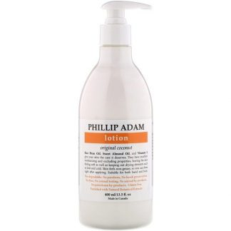 Phillip Adam, Lotion, Original Coconut, 13.5 fl oz (400 ml)