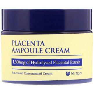 Mizon, Placenta Ampoule Cream, 1.69 fl oz (50 ml)