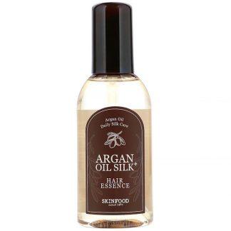 Skinfood, Argan Oil Silk Plus, Hair Essence, 3.38 fl oz (100 ml)