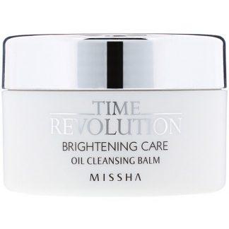 Missha, Time Revolution, Brightening Care, Oil Cleansing Balm, 105 g