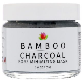 Reviva Labs, Bamboo Charcoal, Pore Minimizing Mask, 2 oz (55 g)