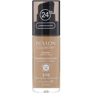 Revlon, Colorstay, Makeup, Combination/Oily, 310 Warm Golden, 1 fl oz (30 ml)