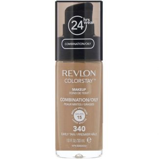 Revlon, Colorstay, Makeup, Combination/Oily, 340 Early Tan, 1 fl oz (30 ml)