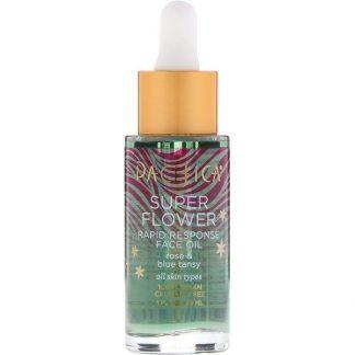 Pacifica, Super Flower, Rapid Response Face Oil, 1 fl oz (29 ml)