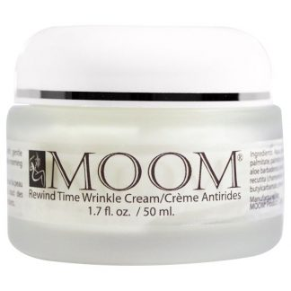 Moom, Rewind Time Wrinkle Cream, 1.7 fl oz (50 ml)