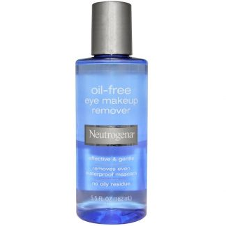Neutrogena, Oil-Free Eye Makeup Remover, 5.5 fl oz (162 ml)