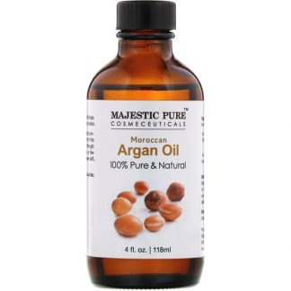 Majestic Pure, 100% Pure & Natural, Moroccan Argan Oil, 4 fl oz (118 ml)