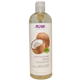 Now Foods, Solutions, Liquid Coconut Oil, Pure Fractionated, 16 fl oz (473 ml)