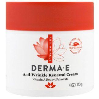 Derma E, Anti-Wrinkle Renewal Cream, 4 oz (113 g)