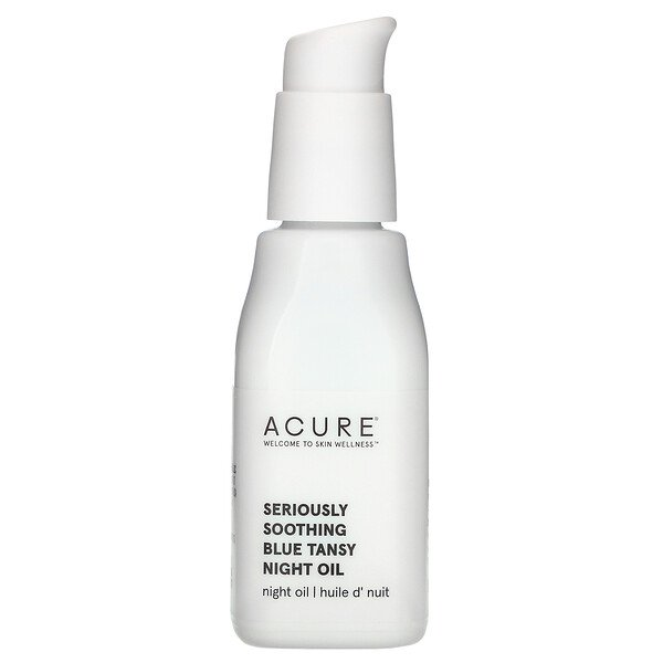 Acure, Seriously Soothing, Blue Tansy Night Oil, 1 Fl Oz