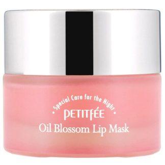 Petitfee, Oil Blossom Lip Mask, Camelia Seed Oil, 15 g