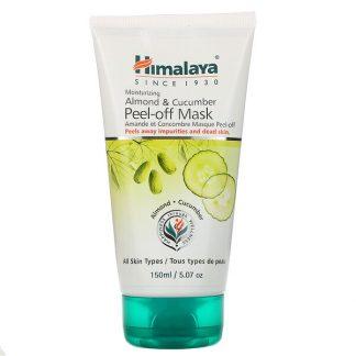 Himalaya, Peel-off Mask, For All Skin Types, Almond & Cucumber, 5.07 fl oz (150 ml)