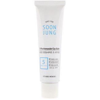 Etude House, Soon Jung, 5-Panthensoside Cica Balm, 1.35 fl oz (40 ml)