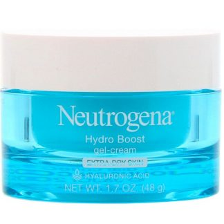 Neutrogena, Hydro Boost, Gel-Cream, Extra-Dry Skin, Fragrance-Free, 1.7 oz (48 g)