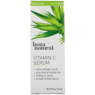 InstaNatural, Vitamin C Serum, Anti-Aging, 0.17 fl oz (5 ml)