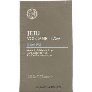 The Face Shop, Jeju Volcanic Lava, Volcanic Ash Nose Strips, 7 Single-Use Nose Strips