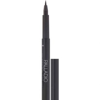Palladio, Felt-Tip Eyeliner Pen, Jet Black, 0.037 fl oz (1.1 ml)