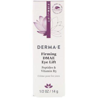 Derma E, Firming DMAE Eye Lift, 1/2 oz (14 g)
