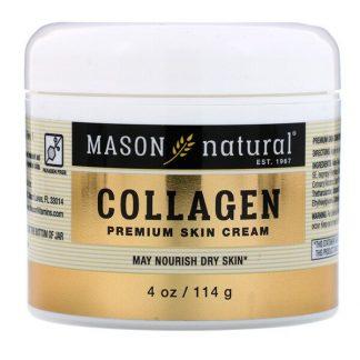 Mason Natural, Collagen Premium Skin Cream, 4 oz (114 g)