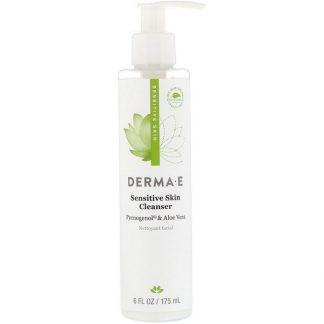 Derma E, Sensitive Skin Cleanser, 6 fl oz (175 ml)