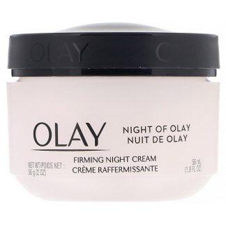 Olay, Night of Olay, Firming Night Cream, 1.9 fl oz (56 ml)