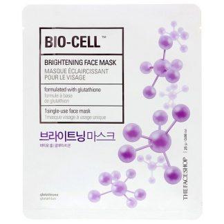 The Face Shop, Bio-Cell, Brightening Face Mask, 1 Sheet, 0.88 oz (25 g)