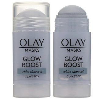 Olay, Masks, Glow Boost, White Charcoal Clay Stick Mask, 1.7 oz (48 g)