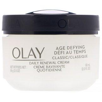 Olay, Age Defying, Classic, Daily Renewal Cream, 2 fl oz (60 ml)