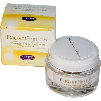 Life-flo, Radiant Skin HA, Revitalizing Skin Cream with Hyaluronic Acid, 1.7 fl oz (50.3 ml)