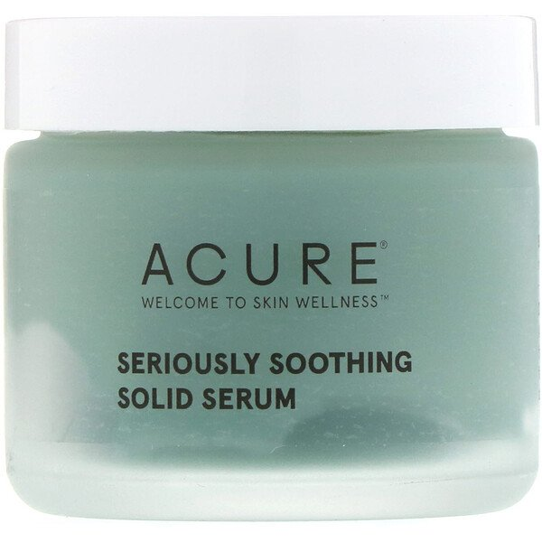 Acure, Seriously Soothing Solid Serum, 1