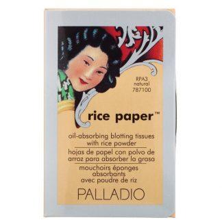 Palladio, Rice Paper, Natural, 40 Tissues