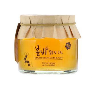 Papa Recipe, Bombee Honey Pudding Cream, 135 ml